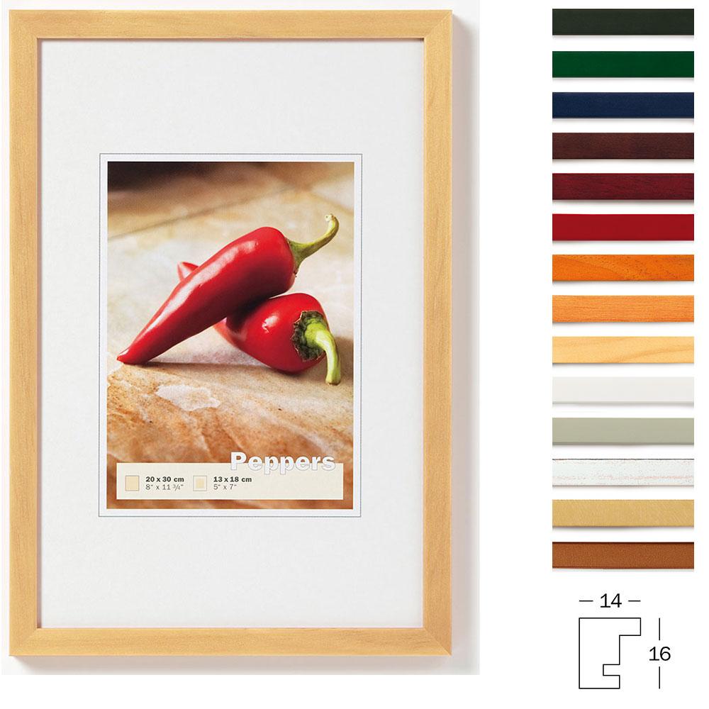 Lijst van hout Peppers