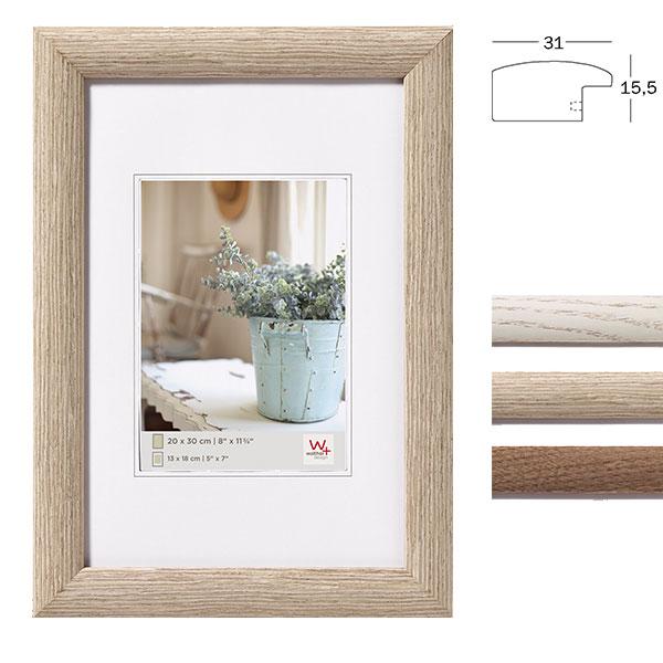 Lijst van hout Interieur