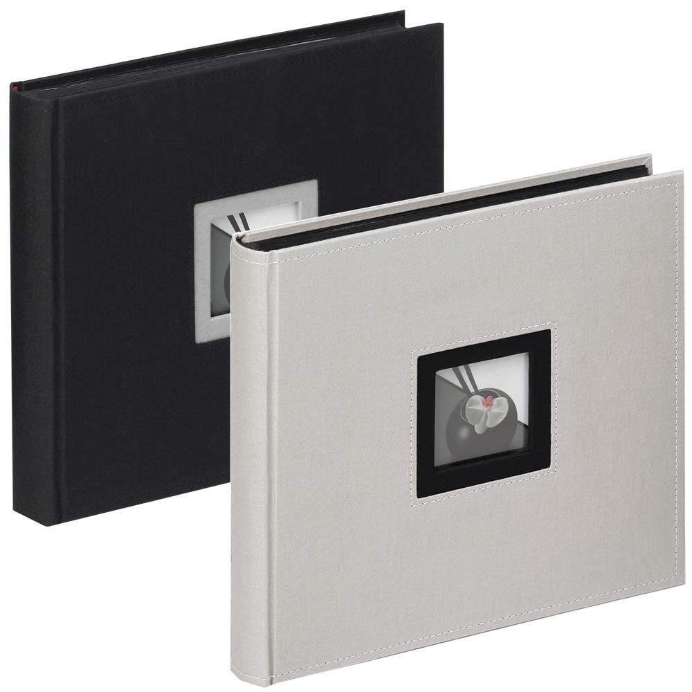 """Boekalbum """"Black & White"""" voor inlijmen, 26x25 cm"""
