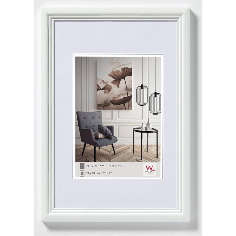 Lijst 30 X 45.Walther Lijst Van Hout Living 30x45 Cm Wit Normaalglas