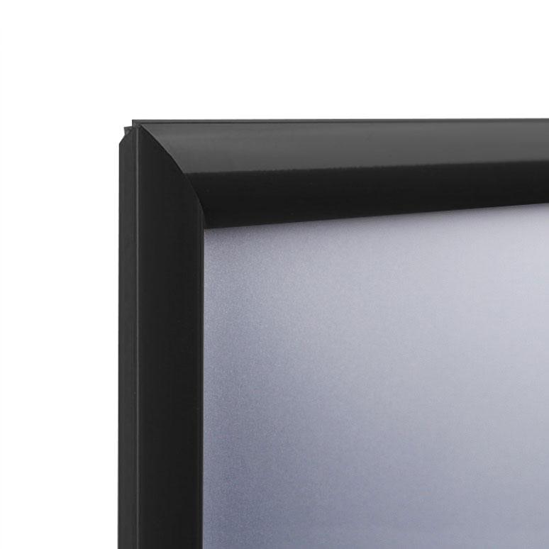 Display Vouwframe Color 25 Mm 50x70 Cm Donker Zwart Ral